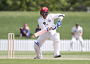 Cam Fletcher of Canterbury bats. Canterbury vs. Central Districts Day 2, 1st round of the 2021-2022 Plunket Shield cricket competition at Hagley Oval, Christchurch, on Sunday 24th October 2021.<br /> © Copyright Photo: Martin Hunter/ www.photosport.nz