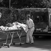 NLD/Bussum/19940828 - Schietpartij Da Costalaan Bussum, politie schiet inbreker dood