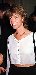 Social figure MISS SABRINA GUINNESS, at a party<br />  in London on 15th May 2000. OEB 59