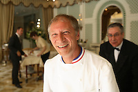 Chef Eric Frechon of the Hotel Bristol, Paris