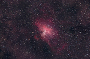 The Eagle Nebula, Messier 16, in the constellation Serpens.