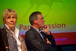 Training the judges by Katrina Wüst and Wim Ernes<br /> Global Dressage Forum<br /> Academy Bartels - Hooge Mierden 2011<br /> © Dirk Caremans