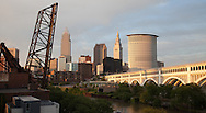 Cleveland skyline looking east