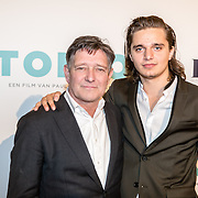 NLD/Amsterdam/20161005 - Filmpremiere Tonio, Pierre Bokma en Chris Peters