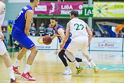 Jan Mocnik of KK Helios Suns  during basketball match between KK Zlatorog and KK Helios Suns in 1st match of Nova KBM Slovenian Champions League Final 2015/16 on May 29, 2016  in Dvorana Zlatorog, Lasko, Slovenia.  Photo by Ziga Zupan / Sportida