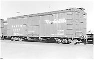 "Box car #3585 ""Flour, Sugar, and Beans Loading Only.""<br /> D&RGW  Alamosa, CO  Taken by Richardson, Robert W. - 12/1950"