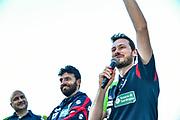 Giorgio Gerosa<br /> Festa Supercoppa a Sassari<br /> Zurich Connect Supercoppa LBA 2019<br /> Sassari, 23/09/2019<br /> Foto L.Canu / Ciamillo-Castoria