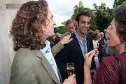 JAMIE BYNG; AATISH TASEER; LADY OWEN, David Campbell and Knopf host the 20th Anniversary of the revival of Everyman's Library. Spencer House. St. James's Place. London. 7 July 2011. <br /> <br />  , -DO NOT ARCHIVE-© Copyright Photograph by Dafydd Jones. 248 Clapham Rd. London SW9 0PZ. Tel 0207 820 0771. www.dafjones.com.