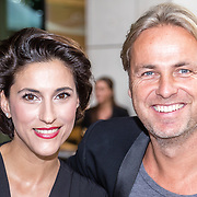 NLD/Amsterdam/20160830 - Nieuw TAG Hauer horloge, Kristina Bozilovic en John Ewbank
