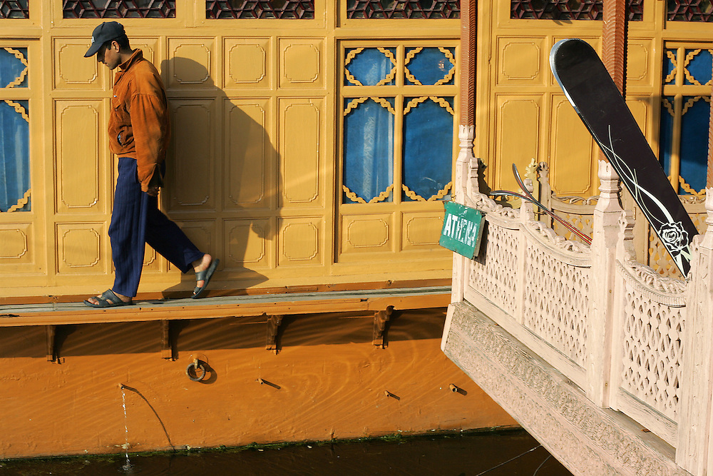 Location: Dal Lake at Srinagar (Kashmir India)
