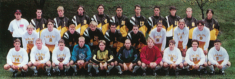 1996 Mens Soccer<br /> Mid-Continent Conference<br /> Tournament Champion