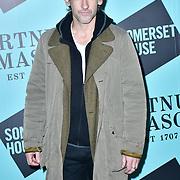 Joseph Mawle arrivers Skate at Somerset House with Fortnum & Mason Launch party, London, Somerset House, 12 November 2019, London, UK.