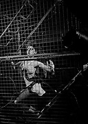 """Cage Girl on set at Def Leppard 1983 video """"Photograph"""""""