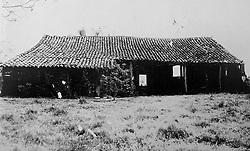 Reprodução de foto do Museu do Imigrante, em São Leopoldo mostra a casa  que abrigou os primeiros imigrantes alemães que chegaram a São Leopoldo. Na época chamada Real Feitoria do Linho Cânhamo. FOTO: Lucas Uebel/Preview.com