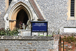 St Marks church Englefield has final preparations for pippa middletons wedding<br /><br />18 May 2017.<br /><br />Please byline: Vantagenews.com