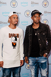 Gabriel Jesus & Fernandinho attends the World Premiere of Prime Video series. All or Nothing: Manchester City, at The Printworks in Manchester ahead of its release on Friday.