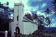 Father Damien's Church, Kalaupapa, Molokai, Hawaii, USA<br />