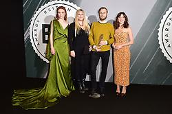 Rene Pannevis, Jennifer Eriksson, Eleanor Tomlinson and Ophelia bei den British Independent Film Awards in London / 041216<br /> <br /> <br /> *** at the British Independent Film Awards in London on December 4th, 2016 ***
