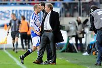 Fotball<br /> Nederland / Holland<br /> Foto: ProShots/Digitalsport<br /> NORWAY ONLY<br /> <br /> voetbal sc heerenveen - vvv  eredivisie seizoen 2009-2010 04-10-2009 Gedrag Grindheim onderzocht door tuchtcommissie <br /> <br /> I det han ble byttet ut i 1-1-kampen mot Venlo, ser han inn i tv-kameraet og lirer av seg noen strofer, før et høyt og tydelig «Fuck you» ropes inn i kameraet.