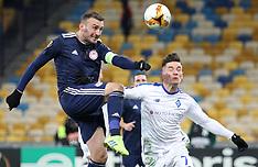 Dynamo Kyiv v Olympiacos - 21 February 2019