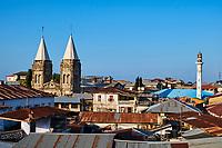 Tanzanie, archipel de Zanzibar, ile de Unguja (Zanzibar), ville de Zanzibar, quartier Stone Town classe patrimoine mondial UNESCO, cathedrale St. Joseph // Tanzania, Zanzibar island, Unguja, Stone Town, unesco world heritage, St. Joseph's catolic Cathedral