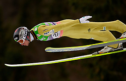 Robert Kranjec of Slovenia during Flying Hill Individual at 2nd day of FIS Ski Jumping World Cup Finals Planica 2011, on March 18, 2011, Planica, Slovenia. (Photo by Vid Ponikvar / Sportida)