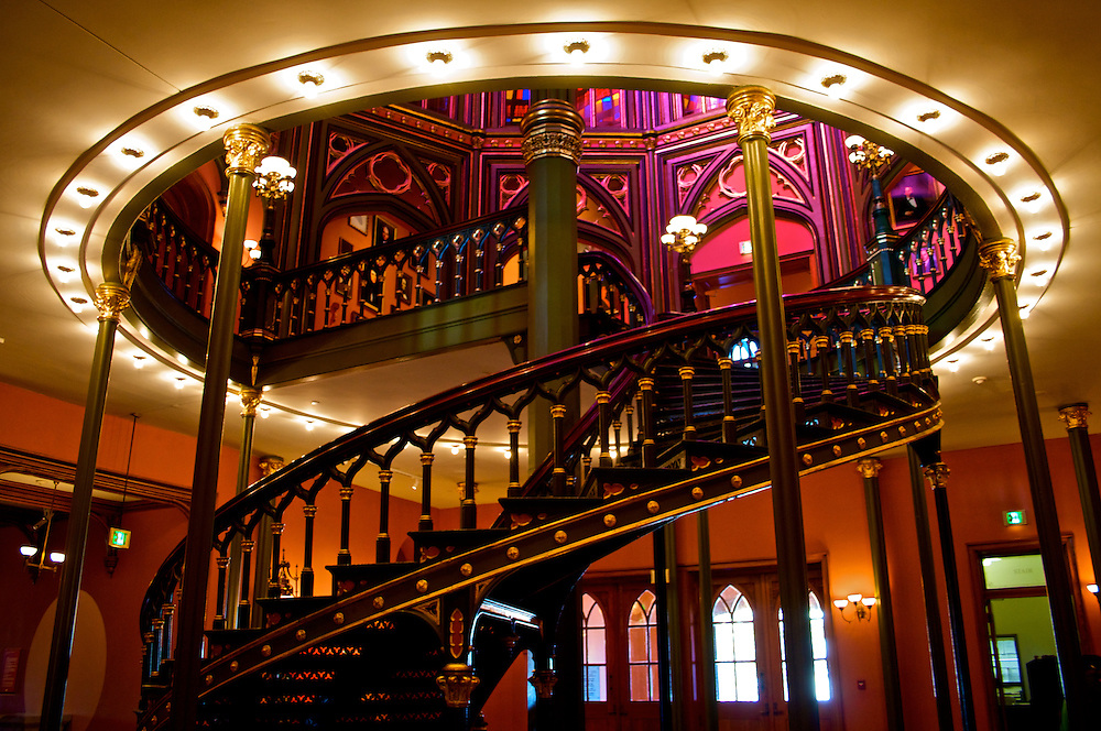 Staircase, Old State House, Baton Rouge, LA