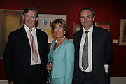 MR. AND MRS. BILL CASH AND WILLIAM CASH, Spear's Wealth Management High-Net-Worth Awards. Sotheby's. 10 July 2007.  -DO NOT ARCHIVE-© Copyright Photograph by Dafydd Jones. 248 Clapham Rd. London SW9 0PZ. Tel 0207 820 0771. www.dafjones.com.