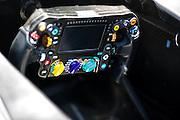 June 5-7, 2015: Canadian Grand Prix: Mercedes steering wheel detail