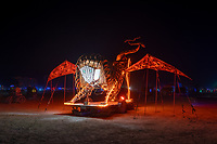 Manticore by the Man Team (thanks to Garvinfred for helping me with the name here) - https://Duncan.co/Burning-Man-2021