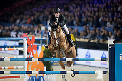 Hutton Samuel, GBR, Happydam<br /> Open Sires of the World Zangersheide<br /> Vlaanderens Kerstjumping Memorial Eric Wauters<br /> © Dirk Caremans<br /> 27/12/2016