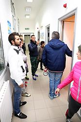 L'INTERNO DELL'OSTELLO<br /> BARRICATA A GORINO CONTRO L'ARRIVO DEI PROFUGHI