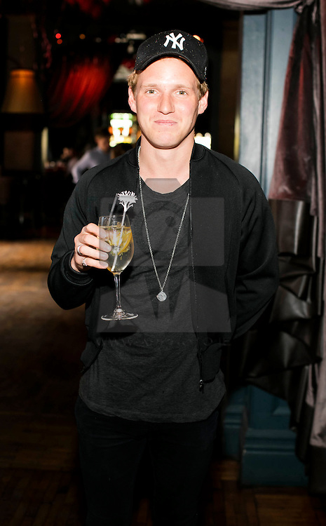 Repro Free: 21/05/2016  Mae in Chelsea star Jamie Laing pictured enjoyed a Belvedere Spritz at Dublin's second LOVE BRUNCH, which was held in The Odeon Dublin.  On the day, guests enjoyed music, antics and a selection of delicious Belvedere Spritz cocktails. Picture Andres Poveda