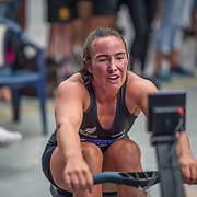 Liv Loe Female Relays Race #24  03:00pm <br /> <br /> www.rowingcelebration.com Competing on Concept 2 ergometers at the 2018 NZ Indoor Rowing Championships. Avanti Drome, Cambridge,  Saturday 24 November 2018 © Copyright photo Steve McArthur / @RowingCelebration