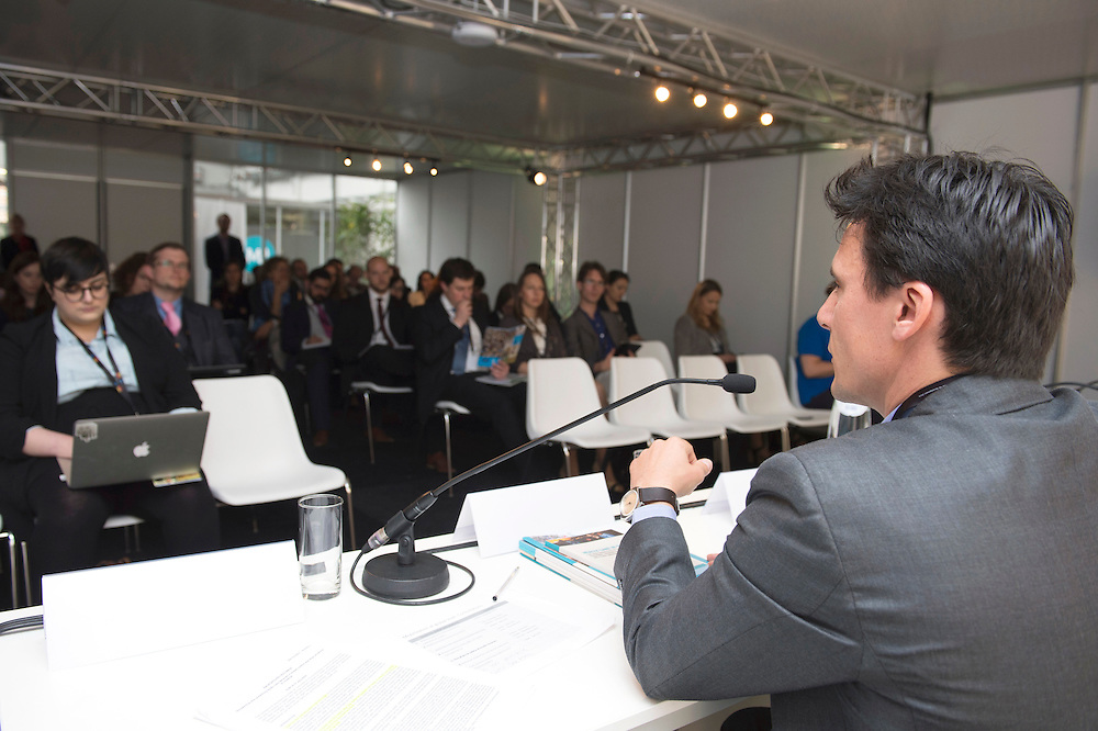 03 June 2015 - Belgium - Brussels - European Development Days - EDD - Health - Refugees and internally displaced persons - Right to health , right to life - Benjamin Charlier<br /> Operations Advisor, International Committee of the Red Cross (ICRC) © European Union