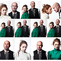A publicity image for a new version of Strindberg's Dance of Death that Candice Edmunds is directing in association with the Citizens Theatre. The two main cast members are Lucianne McEvoy and Tam Dean Burn. They play a couple on the eve of their 25th wedding anniversary. They are stuck on this island and the play is a dark but funny exploration of their toxic relationship.<br /> <br /> For Editors : Please note. Not finished image . Image supplied for design cut -out purposes.<br /> <br /> Photography © Drew Farrell<br /> Tel : 07721-735041<br /> www.drewfarrell.com<br /> <br /> For further information please contact <br /> susannah@voxmotus.co.uk<br /> Mob :   +44 (0)7789345547<br /> Tel :    +44(0)141 418 6275<br /> <br /> Susannah Armitage<br /> Producer<br /> VOX MOTUS<br /> c/o Citizens Theatre<br /> 119 Gorbals Street<br /> Glasgow G5 9DS
