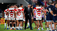 Rugby Union - 2019 Rugby World Cup - Pool A: Japan vs. Scotland<br /> <br /> Jamie Joseph head coach of Japan  at International Stadium Yokohama, Kanagawa Prefecture, Yokohama City.<br /> <br /> COLORSPORT/LYNNE CAMERON