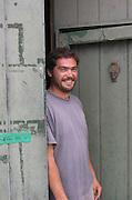 Olivier Pithon, owner winemaker. Domaine Olivier Pithon, Calces, Roussillon, France