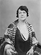 Clara Butt, contralto, opera singer, Britain, 1917