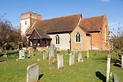 Village parish church at Trimley St Martin, Suffolk, England, UK