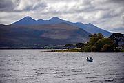 Fishing for torut and salmon on Lough Leane, County Kerry, Ireland.<br /> PHOTO: Don MacMonagle<br /> macmonagle.com