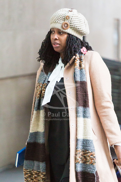 London, November 05 2017. Dawn Butler attends the Andrew Marr Show at the BBC's New Broadcasting House in London.. © Paul Davey