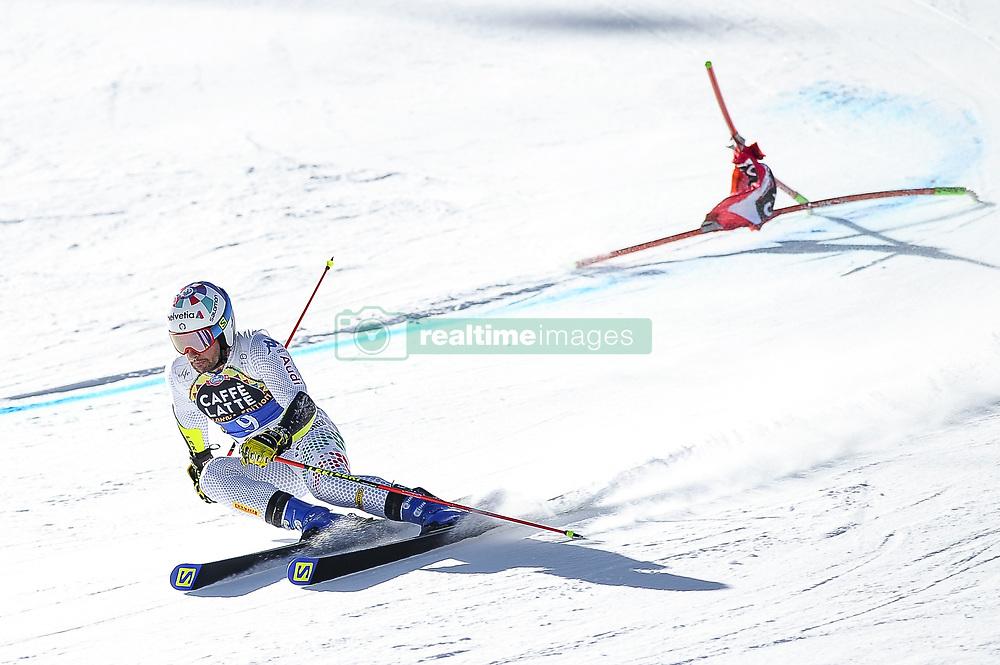 March 16, 2019 - El Tarter, Andorra - Luca de Aliprandini of Italy  Ski Team, during Men's Giant Slalom Audi FIS Ski World Cup race, on March 16, 2019 in El Tarter, Andorra. (Credit Image: © Joan Cros/NurPhoto via ZUMA Press)