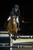 Laura Renwick on Bintang II competes during Hong Kong Jockey Club Trophy at the Longines Masters of Hong Kong on 19 February 2016 at the Asia World Expo in Hong Kong, China. Photo by Juan Manuel Serrano / Power Sport Images