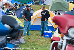 Just before the Florida Georgia Line and ZZ Top concert on the main stage of the Sturgis Buffalo Chip during the annual Black Hills Motorcycle Rally. SD, USA. August 6, 2014.  Photography ©2014 Michael Lichter.