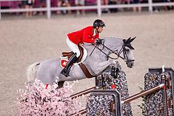 Fuchs Martin, SUI, Clooney 51, 382<br /> Olympic Games Tokyo 2021<br /> © Hippo Foto - Dirk Caremans<br /> 04/08/2021