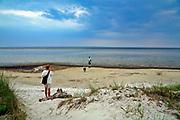 Jurata. Widok na Zatokę Pucką.