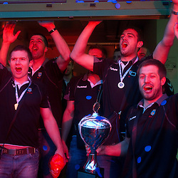 20110522: SLO, Handball - EHF Challenge Cup, finals, Celebration of RK Cimos Koper