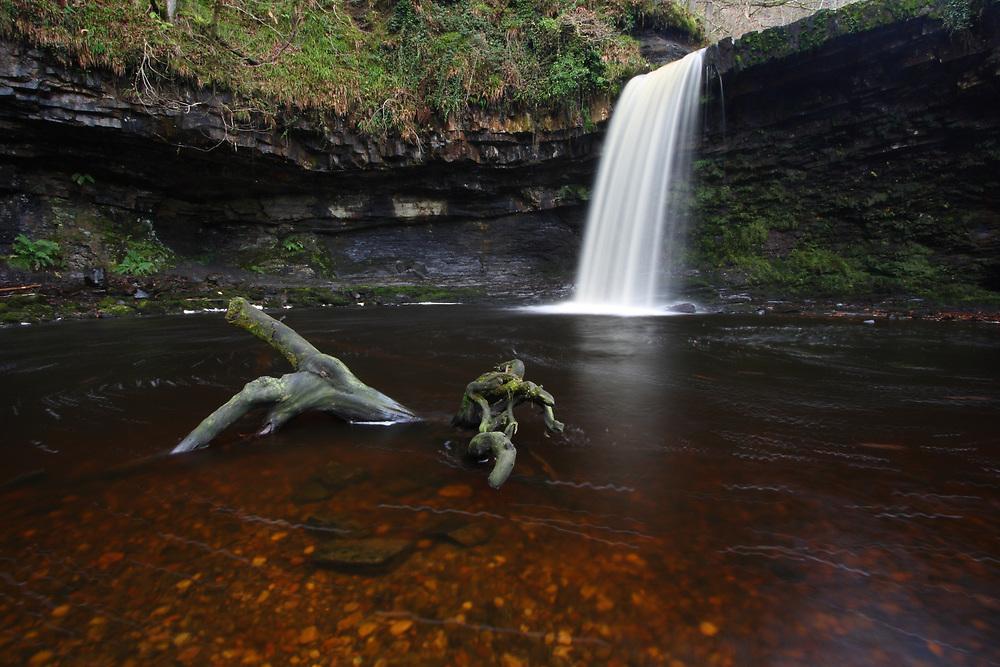 Sgwd Gwladys Waterfall, Brecon Beacons, Wales