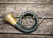 Modern Hunting Series - In Zusammenarbeit mit Jagdjournalistin Anna Lena Kaufmann<br /> <br /> PICTURED: Bockjagd am 1. Mai 2021, Wohltorf, Deutschland - Strecke verblasen
